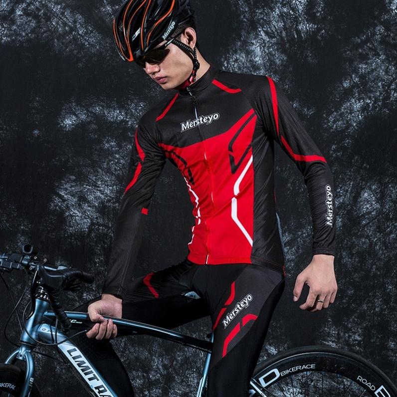 自行车服男加肥加大全套训练服轮滑运动服赛车服夏季摩托车单车裤