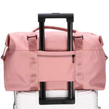 Travel bag for women, portable large capacity, light travel, waiting for work, storage bag for men, sports and fitness bag