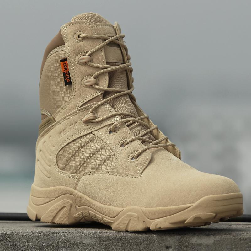 军迷户外高帮作战靴男女军靴特种兵陆军战术靴沙漠靴军鞋秋冬季