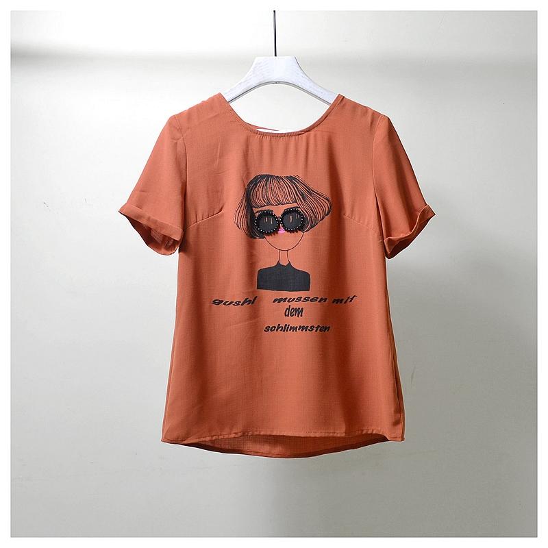 美◆系列商场撤柜专柜品牌折扣店剪标断码正品女装夏季新款衬衫V1