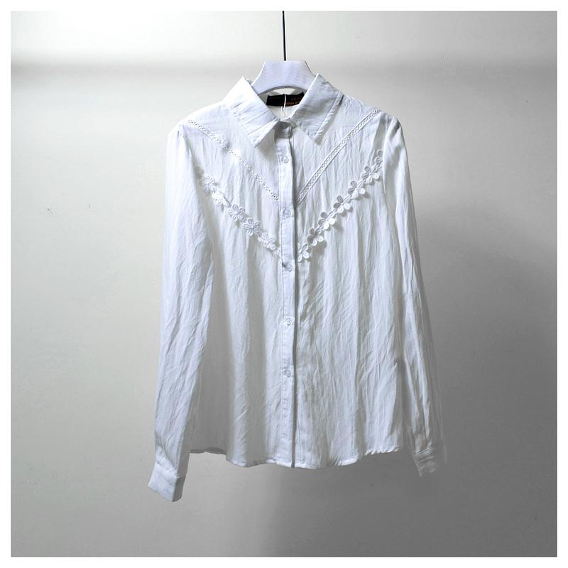 依◆系列商场撤柜专柜品牌折扣店剪标断码正品女装秋季新款衬衫V5