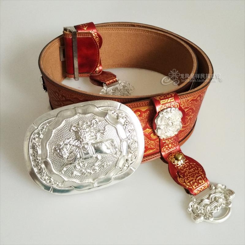 Монголия ремень мужские модели чистая кожа медно-никелевый сплав пряжка ремень монголия гонка одежда аксессуары