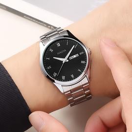 2019新款防水男士手表全自動機械表石英表超薄瑞士黑科技國產腕表圖片