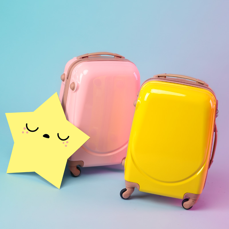 Suitcase, childrens ins net, red trolley case, womens Korean version, new small, light, small, fresh and lovely suitcase