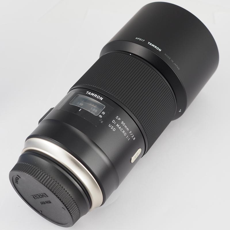 腾龙SP90mm F2.8 Di MACRO 1:1 VC USD F017S 微距镜头 索尼A卡口