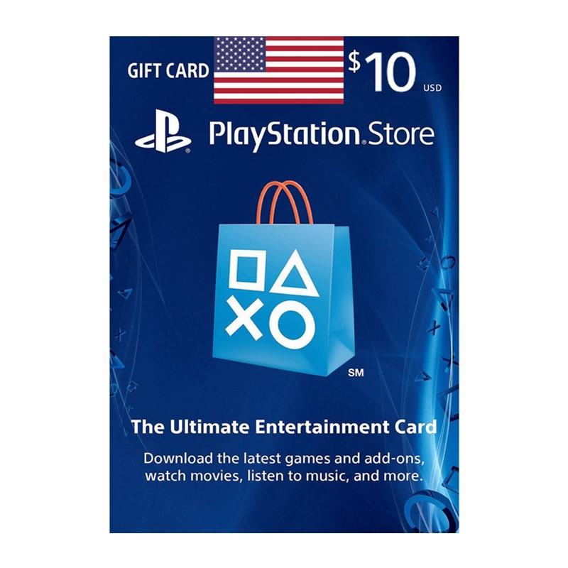 美服PSN10美金充值点卡 美国索尼PS Store Gift Card PS4/PS Vita