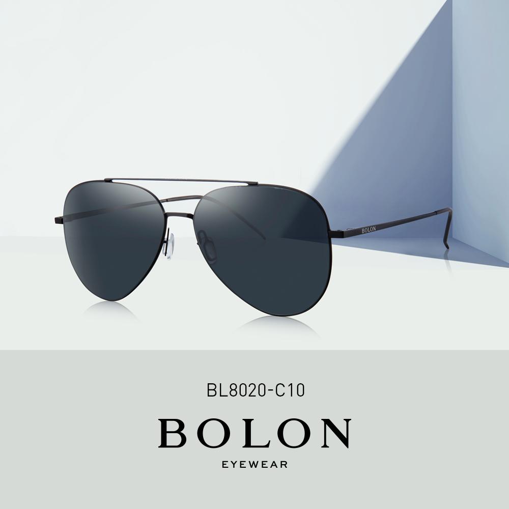 BOLON暴龙复古偏光蛤蟆镜男女飞行员墨镜开车太阳眼镜BL8020&8010
