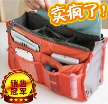 Special Korean bag Zhongbao large multi-functional finishing bag small cosmetic storage bag cosmetic bag inner liner package mail