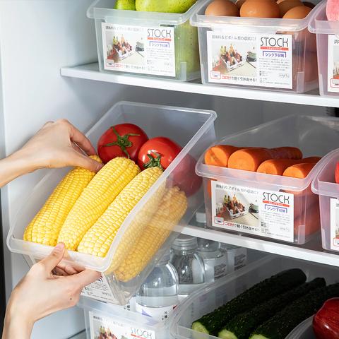 厨房冰箱收纳盒神器冷冻饺子鸡蛋保鲜储物盒抽屉式整理盒食品盒子
