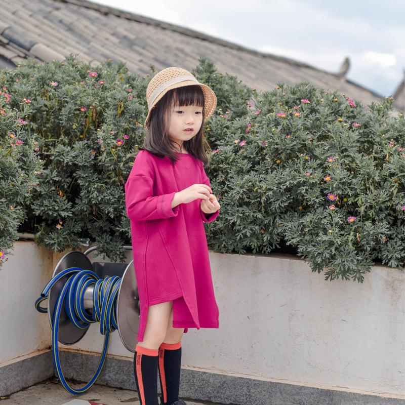 蔡爸爸第128个童话自制女童卫衣(非品牌)