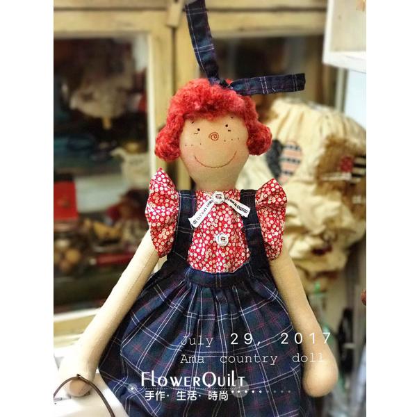 台湾Ama原创乡村娃娃材料套包---猪小妹(师资专供)