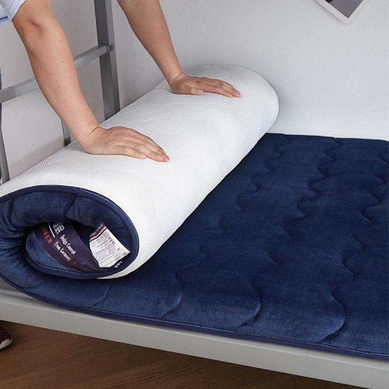 10-16新券床铺垫褥床垫学生宿舍 单人190长80宽多功能90厘米软垫单人床干燥