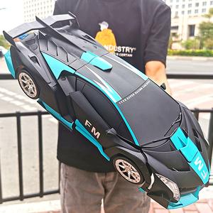 儿童玩具变形遥控汽车手势感应充电动遥控金刚机器人男孩玩具赛车