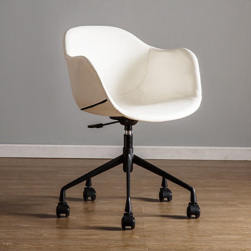 北欧办公椅子书房书桌家用靠背工作室电脑椅升降转椅舒适简约