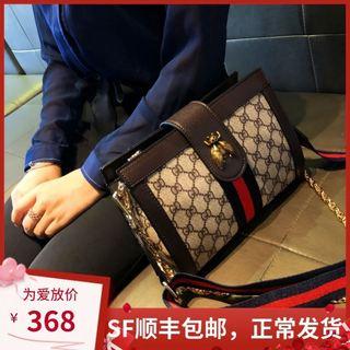 香港品牌真皮女包2020新款时尚限定链条单肩小方包正品斜挎包小包