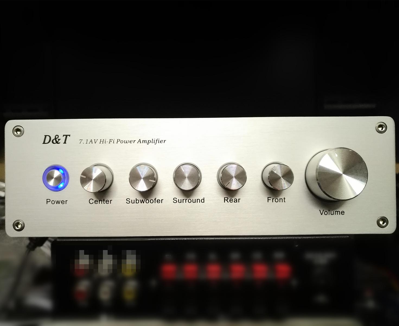 新款8声道电脑影院小功放 7.1AV小功放 吃鸡装备热销推荐