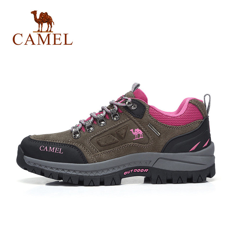 camel women's shoes autumn new sports shoes outdoor non-slip hiking hiking shoes deep-mouth tourism
