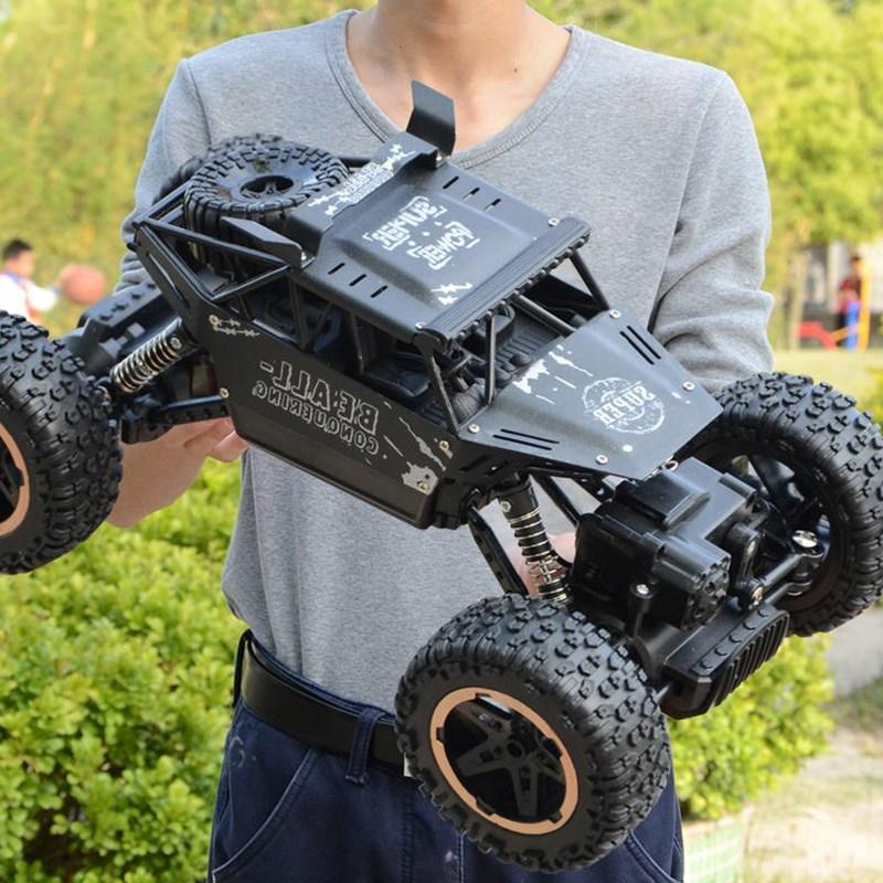 男孩超大合金遥控越野车四驱充电动高速攀爬大脚赛车儿童玩具汽车,可领取元淘宝优惠券