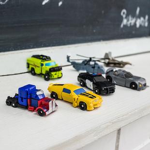 蒙巴迪迷你版变形玩具5擎天金刚