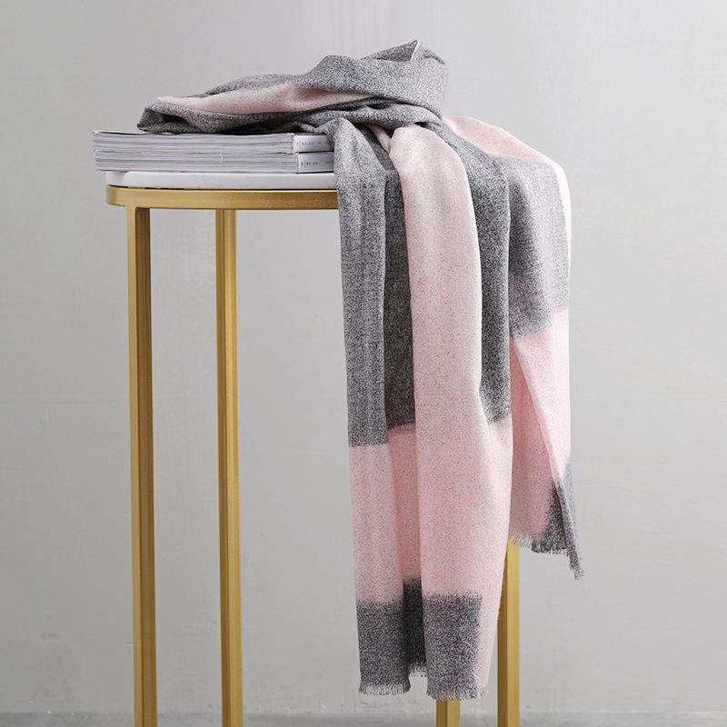 2019 new womens Wool Scarf Shawl thin exquisite gift warm and simple European and American fashion style