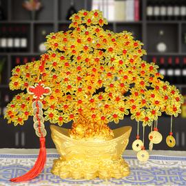 手工DIY串珠编织制作发财树摇钱树材料包招财工艺礼品摆件装饰品