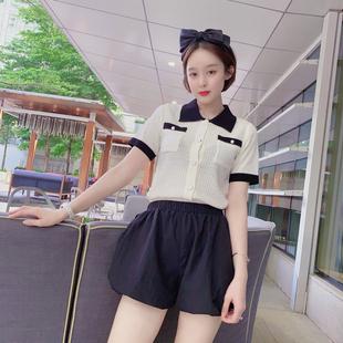 7085韩版学院风修身针织衫JS005