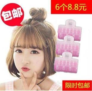 韩国空气刘海神器塑料卷发筒