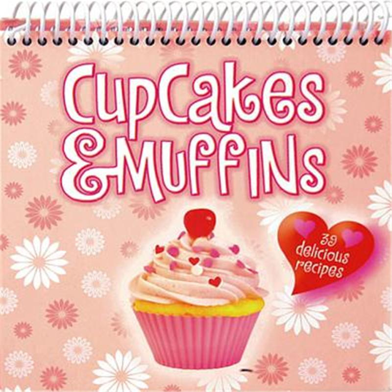 【预售】Cupcakes & Muffins: 39 Delicious Recipes
