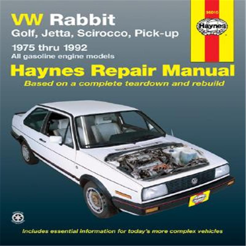 【预售】VW Rabbit, Jetta, Scirocco and Pickup, 1975-1992