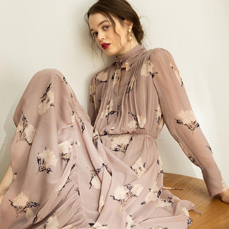 热销116件不包邮相对纶仙女超仙森系秋季新品连衣裙