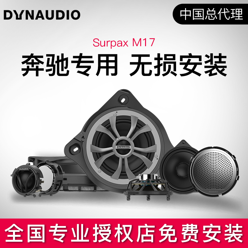 Dynaudiom17 car audio refitted and upgraded from Dana, Denmark