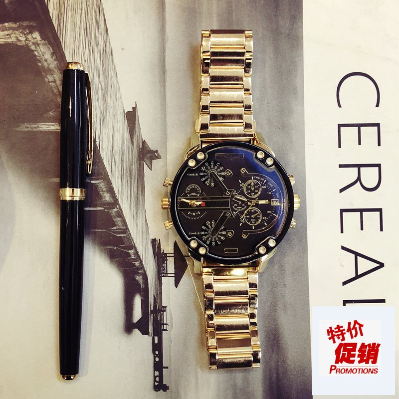Hip hop hip hop hip hop watch mens fashion mens fashion in Europe and America