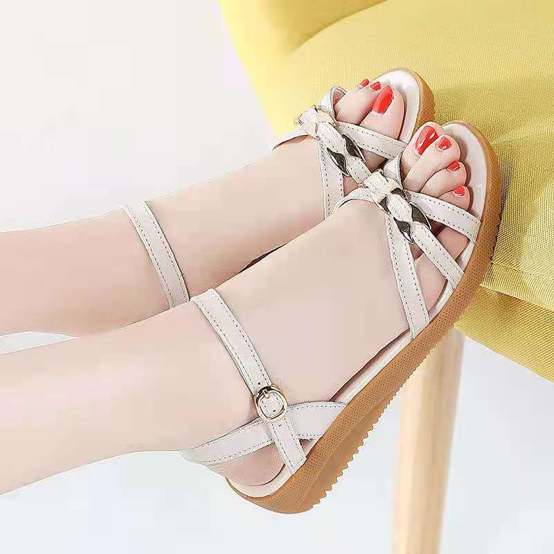 New products on the market everyday good goods comfortable soft sole sandals womens casual shoes