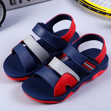 夏季儿童凉鞋2019男女童防滑软底时尚凉鞋大中小儿童休闲沙滩凉鞋