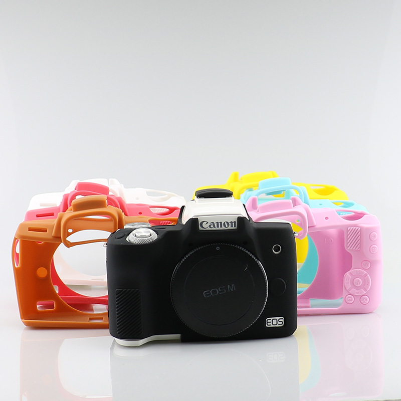 Canon M50 protective case g7xmarkiii camera case M50 g7x3 micro single camera protective silicone case