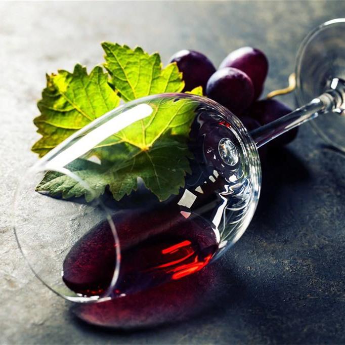 两支装高脚杯套装家用2个欧式玻璃杯子多葡萄酒杯一对