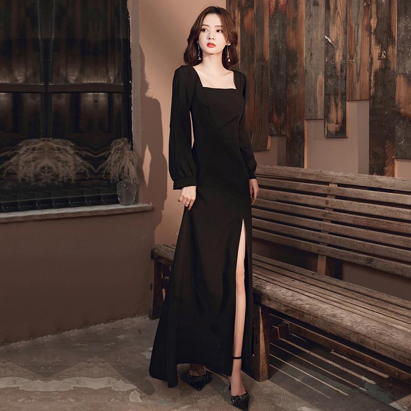 女2020新款高端宴会端庄大气晚礼服
