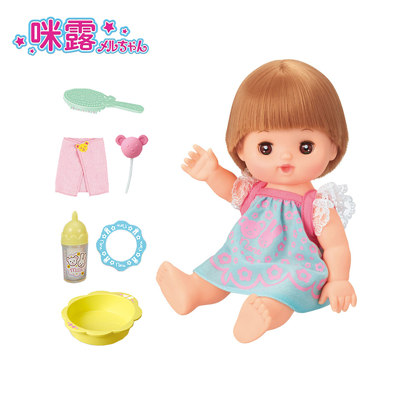 Doll, little princess, girl, toy, child sleeping and comforting