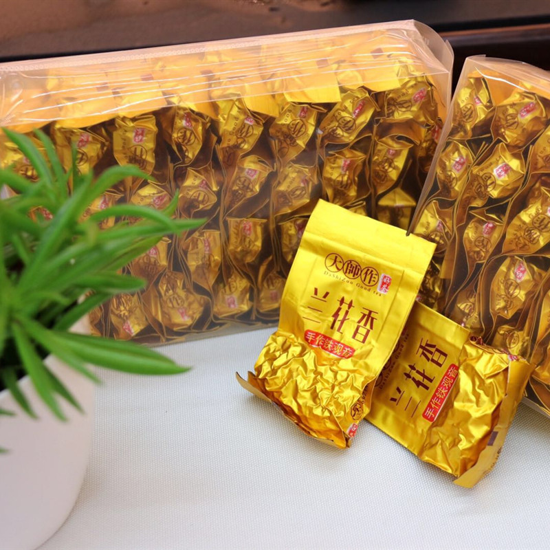 2020 new super grade new Tea Anxi Tieguanyin strong flavor mountain tea fragrance small package orchid flavor 500g