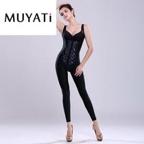 Muyati postpartum plastic body clothes lady thin embroidery even breast augmentation body clothing adjustment type Corset clothing comfortable slimming