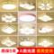 LED吸顶灯圆形主卧室灯现代简约创意儿童房灯阳台过道灯客厅灯具