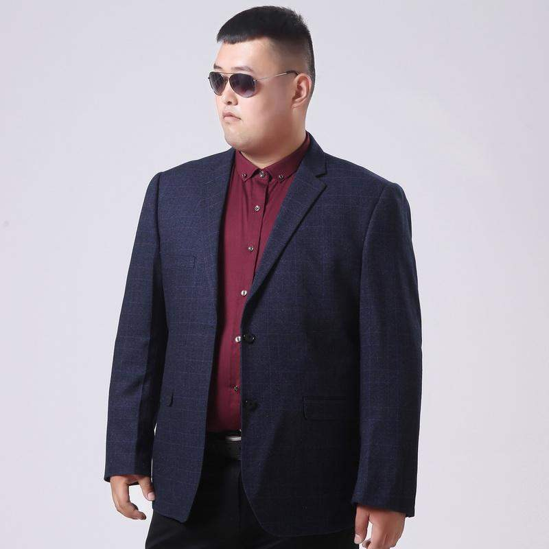 Authentic brand Tiger Muhuang mens wear new middle-aged and elderly fattening plus size suit