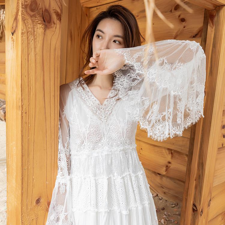 适合去泰国穿拍照的衣服越南芽庄旅游波米西亚沙滩裙吴哥窟裙子
