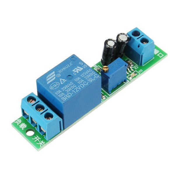 1PC 12V delay disconnect relay module power delay switch / m,可领取元淘宝优惠券