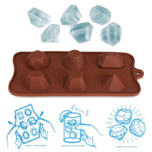 High quality Silicone Freeze Jelly Baking Cookie Ice Cubes J