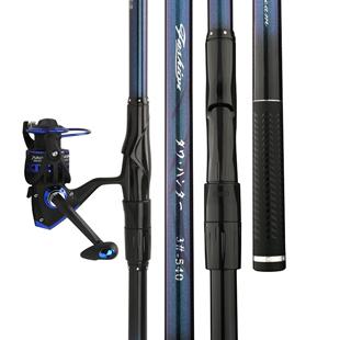 日本進口達瓦獵手磯釣竿超輕超硬定位磯竿魚竿手海兩用竿海竿套裝