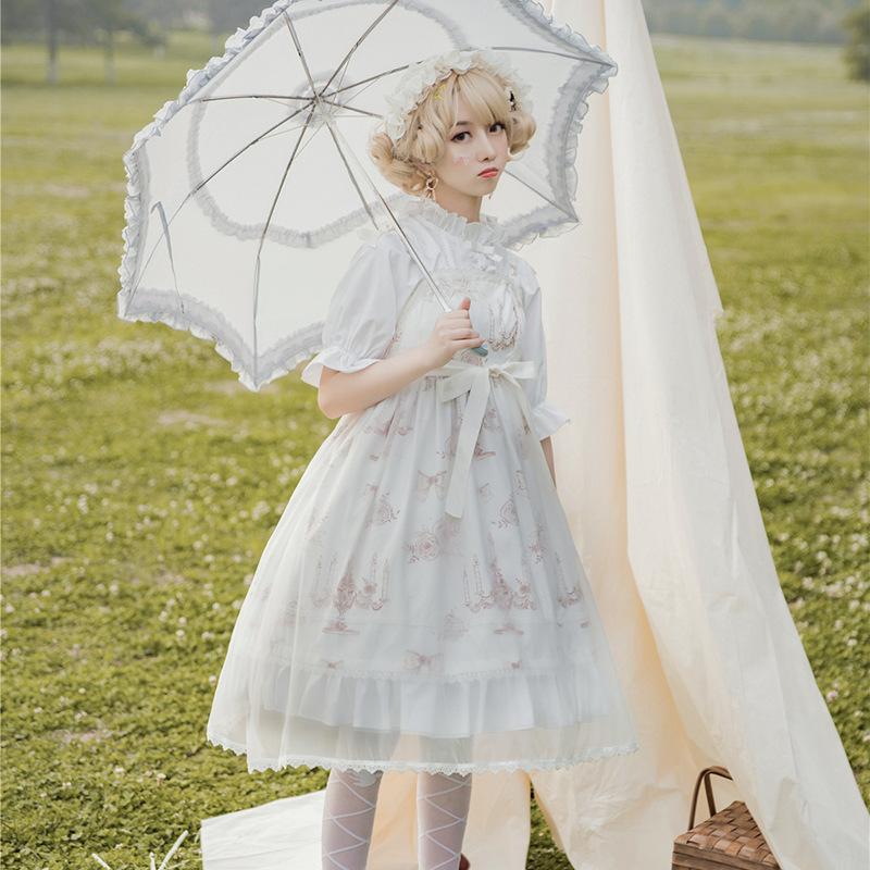 洛丽塔洋装lolita日常装正版公主裙子学生萝莉塔套装可爱轻lo全套