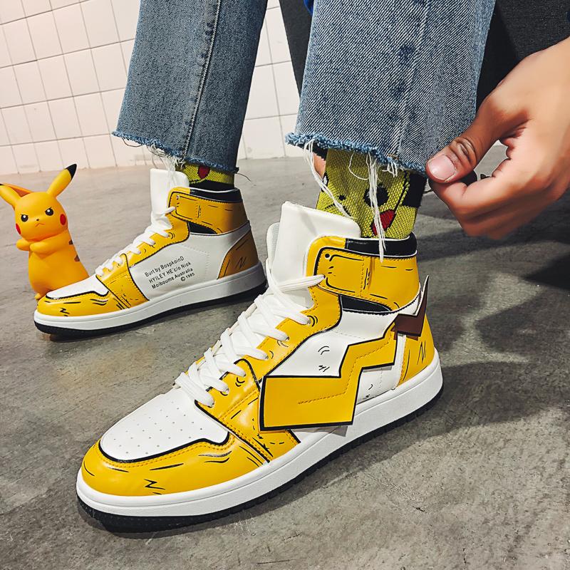 男鞋2020春夏季新款二次元动漫