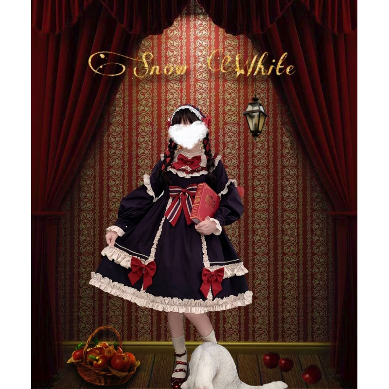 Lolita Lolita full set of classic Princess Doll Lolita suit daily student Lolita Dress Lolita skirt