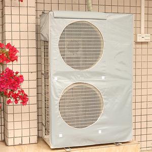 中央空调防水防尘防晒外机罩5-6-10匹全包开机不取柜式空调主机罩